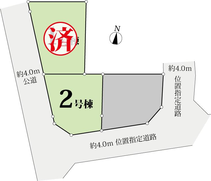 川崎市多摩区登戸 区画図