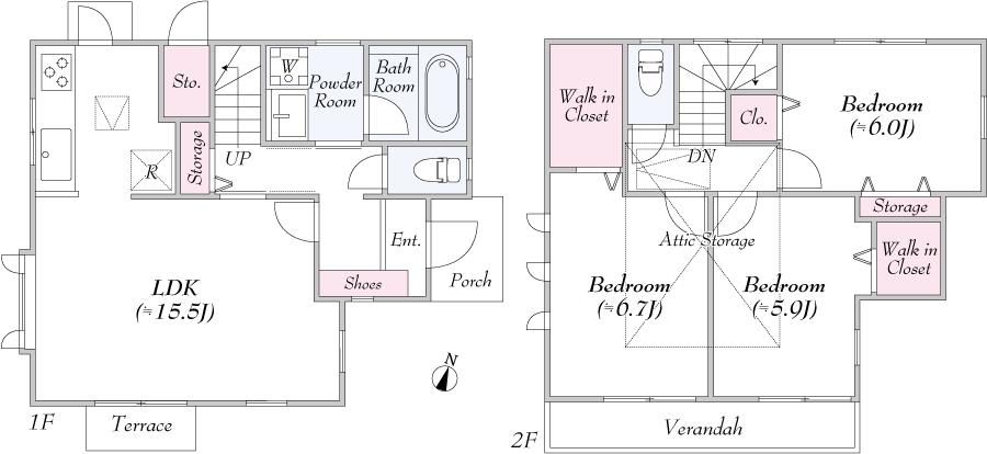 東久留米市南沢4丁目 新築分譲住宅