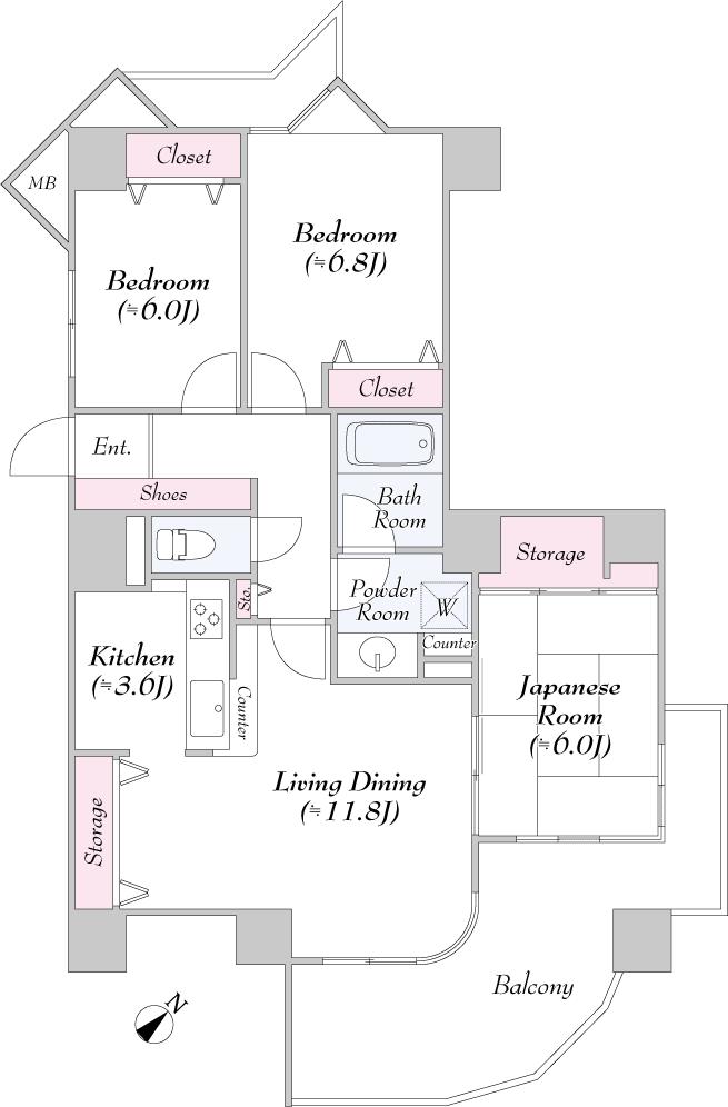 レクセルマンション西国分寺